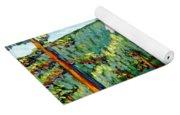 Colorful View Of Idyllwild California Yoga Mat