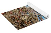 Colorful Winter Wonderland Yoga Mat