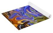 Colours Melting 3 Yoga Mat