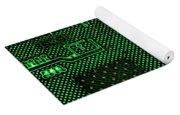 Computer Circuit Board Yoga Mat
