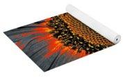 Coneflower Heart Yoga Mat