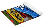 Conga On Fire Yoga Mat