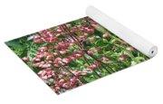 Coral Bells And Irises Yoga Mat