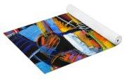 Cosmic Birth Of Jazz Yoga Mat