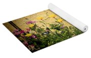Cottage Garden Yoga Mat