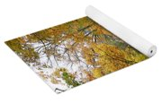 Country Road Fall Vermont Yoga Mat