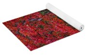 Covered In Fall Colors Yoga Mat