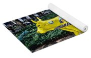 Cow Parade N Y C 2000 - Taxi Cow Yoga Mat