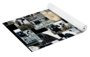 Cows Collage Yoga Mat