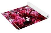 Crabapple Tree Blossoms Yoga Mat