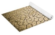 Cracked Ground Yoga Mat