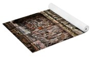 Craigsmillar Castle Fireplace Yoga Mat