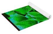 Creatures In The Green Fauna Yoga Mat