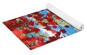 Crimson Foliage Yoga Mat