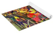 Tulips Of Many Colors - Nyc Markets Yoga Mat