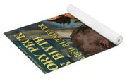 Curly Coated Retriever Art - The World In His Arms Movie Poster Yoga Mat
