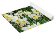 Daffodil Field 2 Yoga Mat