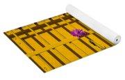 Dahlia In Yellow Gate Yoga Mat