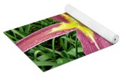 Dark Star Daylilies Yoga Mat