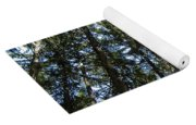Dark Trees Yoga Mat