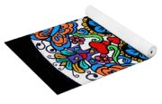 Day Of The Dead Skull Yoga Mat