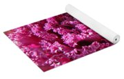 Decorative Fancy Pink Kale Yoga Mat