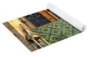 Decorative Roof Yoga Mat