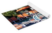 Del Marcos Pool Palm Springs Yoga Mat