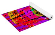 Designer Phone Case Art Colorful Rich Bold Abstracts Cell Phone Covers Carole Spandau Cbs Art 138 Yoga Mat