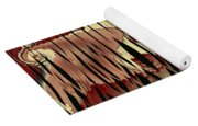 Destruction Of The Earth Abstract Yoga Mat