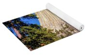 Devil's Tower Through The Trees Yoga Mat