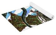 Digital Dragon Rider Colour Version Yoga Mat