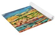 Docked In St. Kitts Yoga Mat