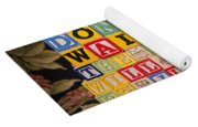 Don't Wait. The Time Will Never Be Just Right Yoga Mat