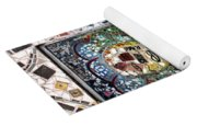 Door Mosaic Yoga Mat