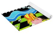 Down By The River Yoga Mat