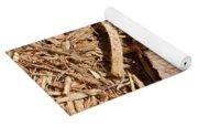Dried Leaf Yoga Mat