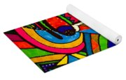 Driven To Abstraction - Parts And Pieces Yoga Mat