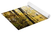 Dune Land Forest Yoga Mat