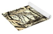 Snow Dusted Limbs Yoga Mat