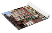 Dutch Canal Houses In Amsterdam Yoga Mat