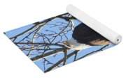 Bald Eagle Sunny Perch Yoga Mat