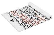 Ebers Papyrus, C1550 B.c Yoga Mat