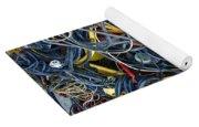 Electrical Cord Picking Yoga Mat