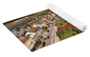 Elevated View Of Ave Maria Oratory Yoga Mat