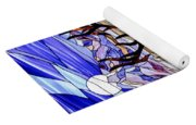 Elk Stained Glass Window Yoga Mat