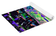 Elvis The King Abstract Yoga Mat