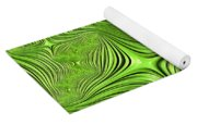 Emerald Scream Yoga Mat