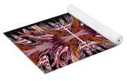 Empress Abstract Triptych Yoga Mat
