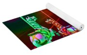 Escape Of The Carousel Horses Yoga Mat